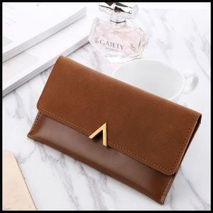 Handbags - 🆕 BORDEAUX Long Wallet - BROWN